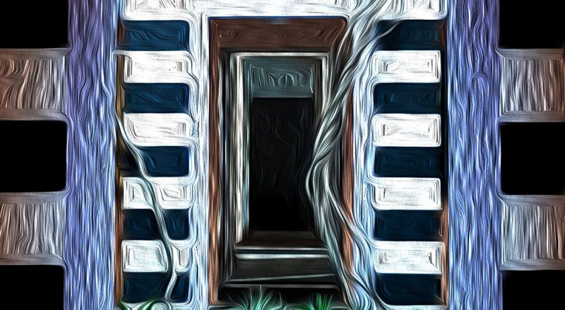 Doorways-in-oil-paint