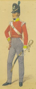 Officer 6th Foot 1814